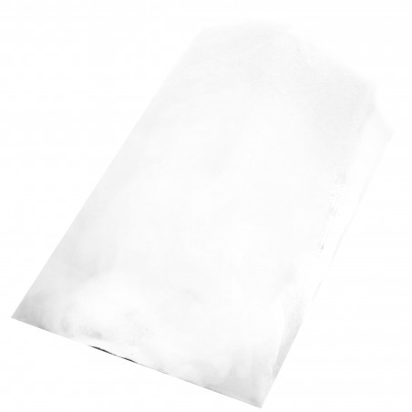 Saco de Papel Branco 14+7x24 cm (1000 Unidades)
