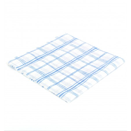 Guardanapos Quadrados Azul 33x33 1 Folha (80 Uds)