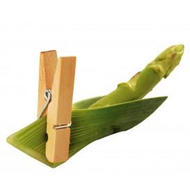 Pinça de Bambu Catering 3,5cm (100 Unidades)