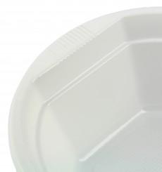 Tigela de Plastico PS Branco 300ml Ø11,9cm (100 Uds)