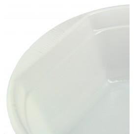 Tigela de Plastico PS Branco 630ml Ø16cm (800 Uds)