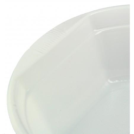Tigela de Plastico PS Branco 500ml (100 Unidades)