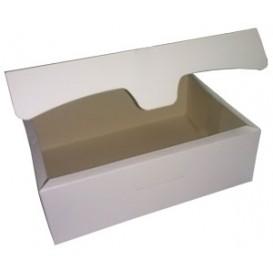 Caixa Pastelaria Branca 18,2x13,6x5,2cm 500g (250 Uds)