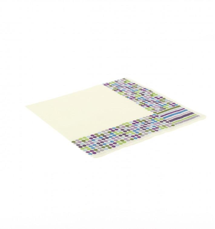 Guardanapos Desenho Linhas e Círculos 33x33cm (20 Uds)