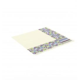 Guardanapos Desenho Linhas e Círculos 33x33cm (500 Uds)