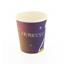 Copo Cartão Desenho Princesa 200 ml (500 Unidades)