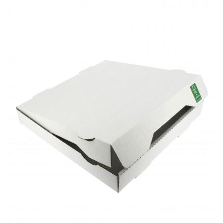 Caixa Cartão Branca 24x24x4,2 cm (100 Unidades)