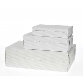 Caixa Bombons e Doces Branca 11x6,5x2,5cm 100g (1000 Uds)