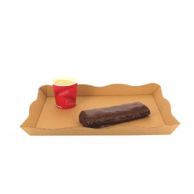 Bandeja para Catering o Fast Food Kraft (10 Uds)