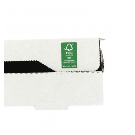 Caixa Cartão Branca 33x33x3,5 cm (100 Unidades)
