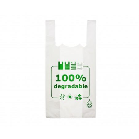 Saco Plastico Alça Degradável 100% 30x40 (200 Uds)