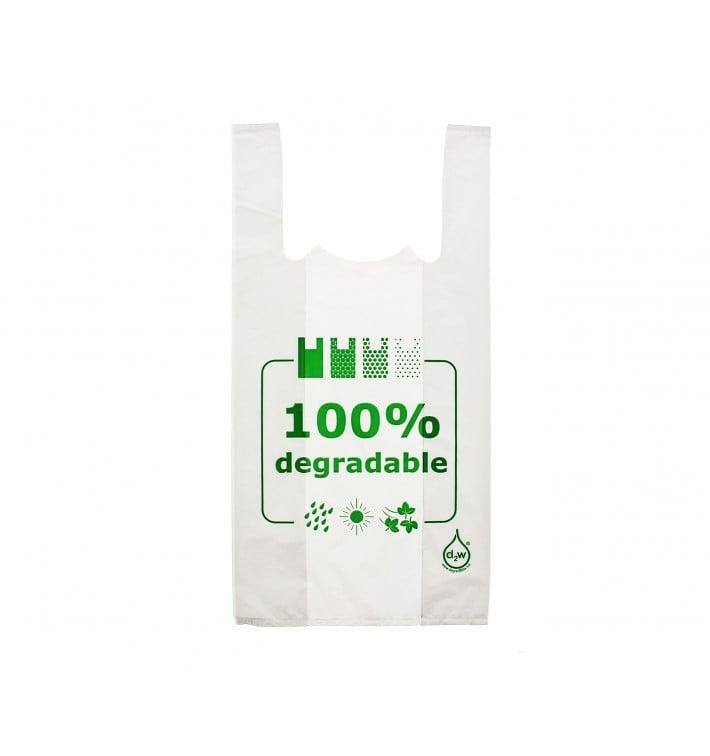 Saco Plastico Alça Degradável 100% 35x50 (2000 Uds)