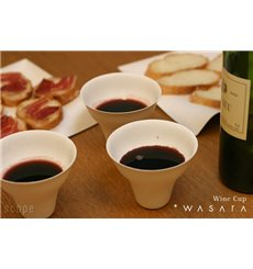 Copo Wine Cup Wasara Biodegradável 260 ml (50 Unidades)