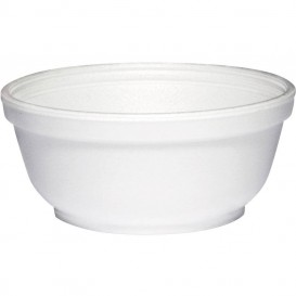 Tigela Isopor Branca 10OZ/300 ml Ø11cm (50 Unidades)