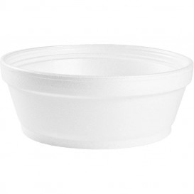 Taça Isopor Branca 8OZ/240 ml Ø8,9cm (50 Unidades)