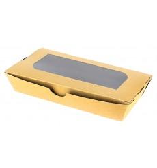 Embalagem Cartolina Janela 19x10x3,5cm 480ml (400 Uds)