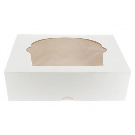 Caixa 6 Cupcakes Branco 24,3x16,5x7,5cm (100 Unidades)