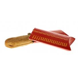 Embalagem para Sandes Abre Fácil Vermelho (500 Uds)