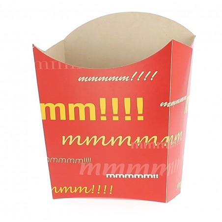 Envase Carton Fritas Pequeñas 8,2x3x1x9cm (Paq. 50 uds)