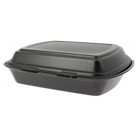 Embalagem Foam MenuBox 1C. Preto 240x210x70mm (50 Uds)