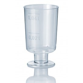 Copo Cristal Licor com Pé PS 40ml (1.400 Unidades)