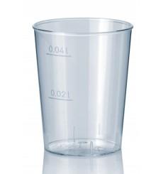 Copo Plastico Cristal Transparente PS 40ml (2000 Uds)