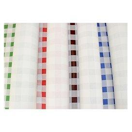 Toalha Papel Rolo Quadros Verdes 1x100m 40g (1 Ud)