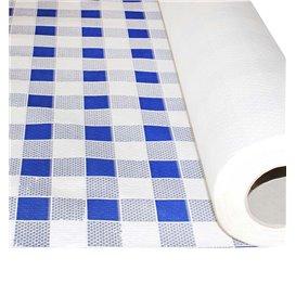 Toalha Papel Rolo Quadros Azules 1x100m 40g (1 Ud)