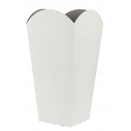 Caixa Pipocas Mediana Branca 90gr 7,8x10,5x18cm (350 Uds)
