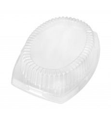 Tampa Plastico Transparente 230x180x40mm (500 uds)