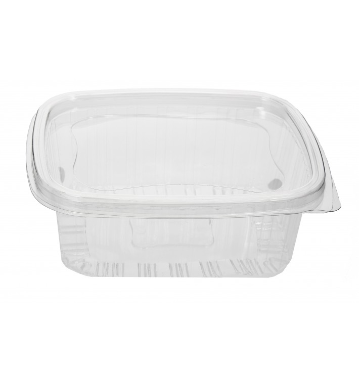 Embalagem Plastico Tampa Bisagra PET 1000ml (80 Uds)