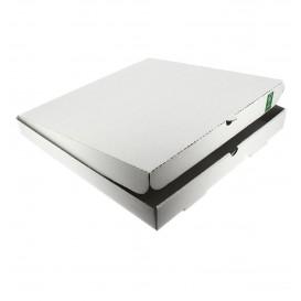 Caixa Cartão Branca 30x30x3,5 cm (100 Unidades)