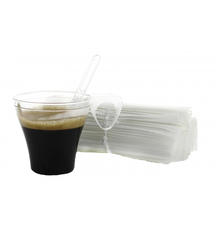 Paletina Individual Cafe 105mm Transparente (50 Uds)