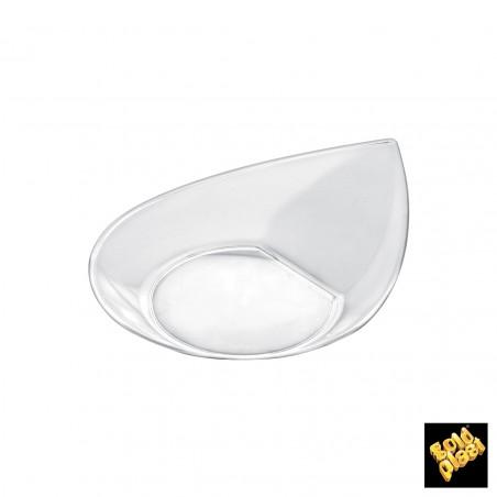 Prato Degustação Smart Transparente 8,6x7,1 cm (50 Uds)