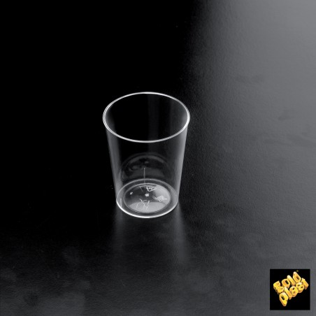 "Vaso de licor Plastico ""Conical"" Transparent 50 ml  (500 Unidades)"