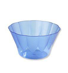 Copo Plastico Royal PS 400ml Azul (30 Unidades)