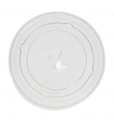 Tampa Cruz para Copo Plástico PP 300 ml Ø7,4cm (125 Uds)