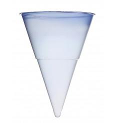 Cone de Plástico PP Azul 115 ml (1.000 Unidades)