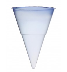 Cone de Plástico PP Azul 115 ml (200 Unidades)
