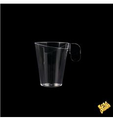 Chavena Plastico Design Transparente 72ml (240 Uds)