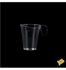 Chavena Plastico Design Transparente 72ml (12 Uds)