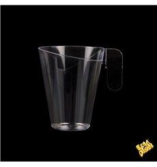 Chavena Plastico Design Transparente 155ml (12 Uds)