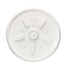 Tampa Plana para Copo Foam 8Oz/240 ml (100 Uds)