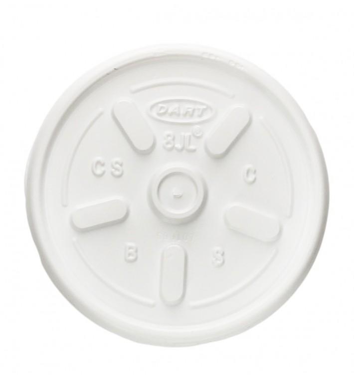 Tampa Plana para Copo Foam Ø8,1cm (1000 Uds)