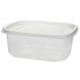 Embalagem Plastico Tampa Bisagra Micro 2000ml (25 Uds)
