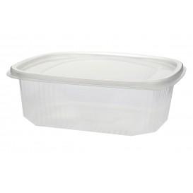 Embalagem Plastico Tampa Bisagra Micro 500ml (50 Uds)