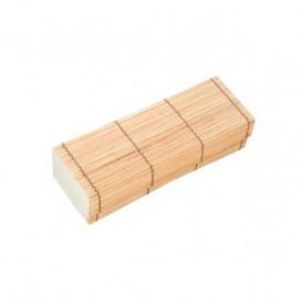 Embalagem de Bambu para sushi 23x8x6cm (1 Ud)