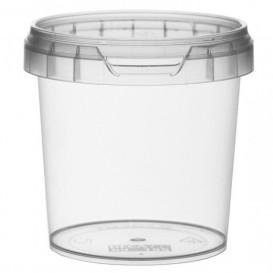 Embalagem Plastico Com Tampa Inviolável 155ml Ø6,9 (24 Uds)