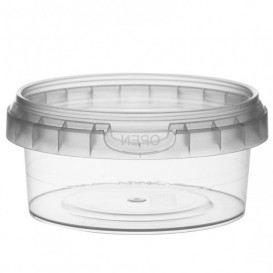 Embalagem Plastico Redondo inviolável 180ml Ø9,5 (252 Uds)