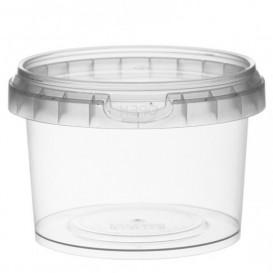 Embalagem Plastico Com Tampa Inviolável 280ml Ø9,5 (25 Uds)